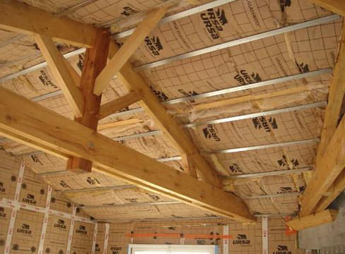 L 39 isolation de la toiture le mulot for Isolation de la toiture